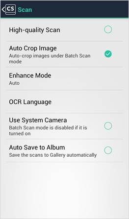 CamScanner V 3 6 User Manual for Android Content Create